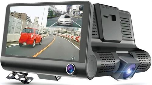 新型3画面同時記録ドライブレコーダー 駐車監視モード付