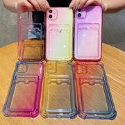 iphoneケース クリア 写真やカード背面収納 iPhone12pro ケース iphonexr/xsmaxカバー