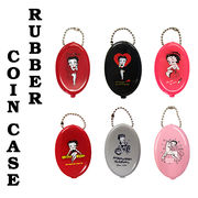 【MADE IN USA】 Rubber Coin Case ラバー コインケース Betty Boop ベティちゃん