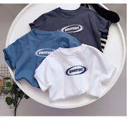 【KIDS夏服】韓国風子供服  半袖Tシャツ ファッション 男女兼用 人気半袖Tシャツ  全3色 # 100-160
