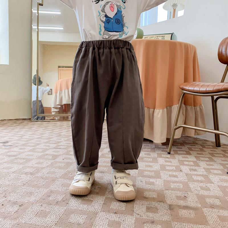 韓国風子供服 韓国ファッション 可愛い  ロング パンツ ファッション