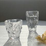 韓国ファッション ガラス 家庭用 可愛い 牛乳カップ ビアグラス INSスタイル シンプル