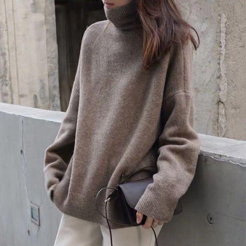 【Women】韓国風レディース服 トップス ニット セーター かわいい おしゃれ