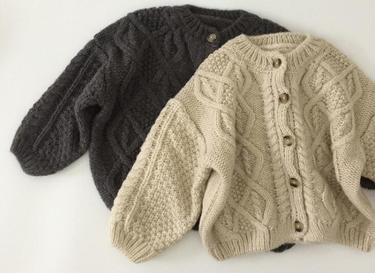 秋 子供セーター 新作 子供服 キッズ 女の子 男の子 子供服 トップス ニット コート 2色