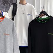 ユニセックス メンズ Tシャツ 長袖 シャツ カジュアル 大きいサイズ ストリート系 渋谷風☆