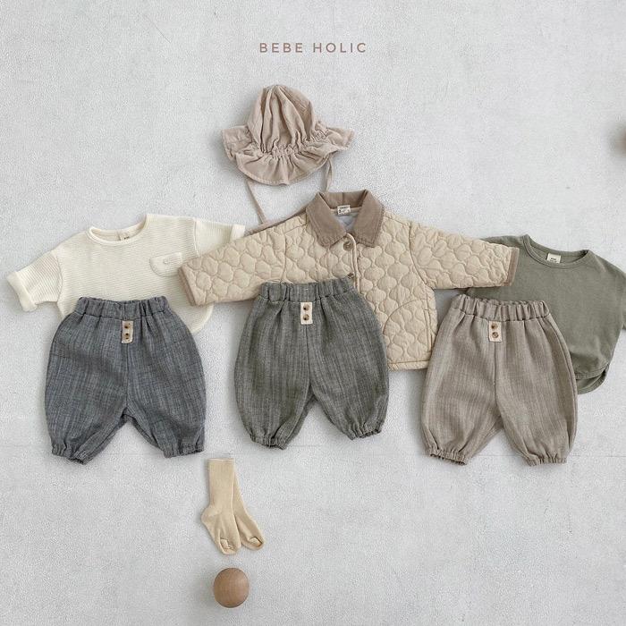 【KID】韓国風子供服 ベビー服  男女兼用 おしゃれ ロングパンツ 綿麻