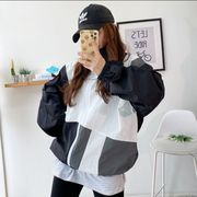 Stand Switching Nylon Zip Up Jacket (ナイロンジャケット)