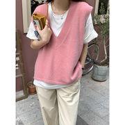 【Women】韓国風レディース服 レディース オシャレ  ベスト トップス