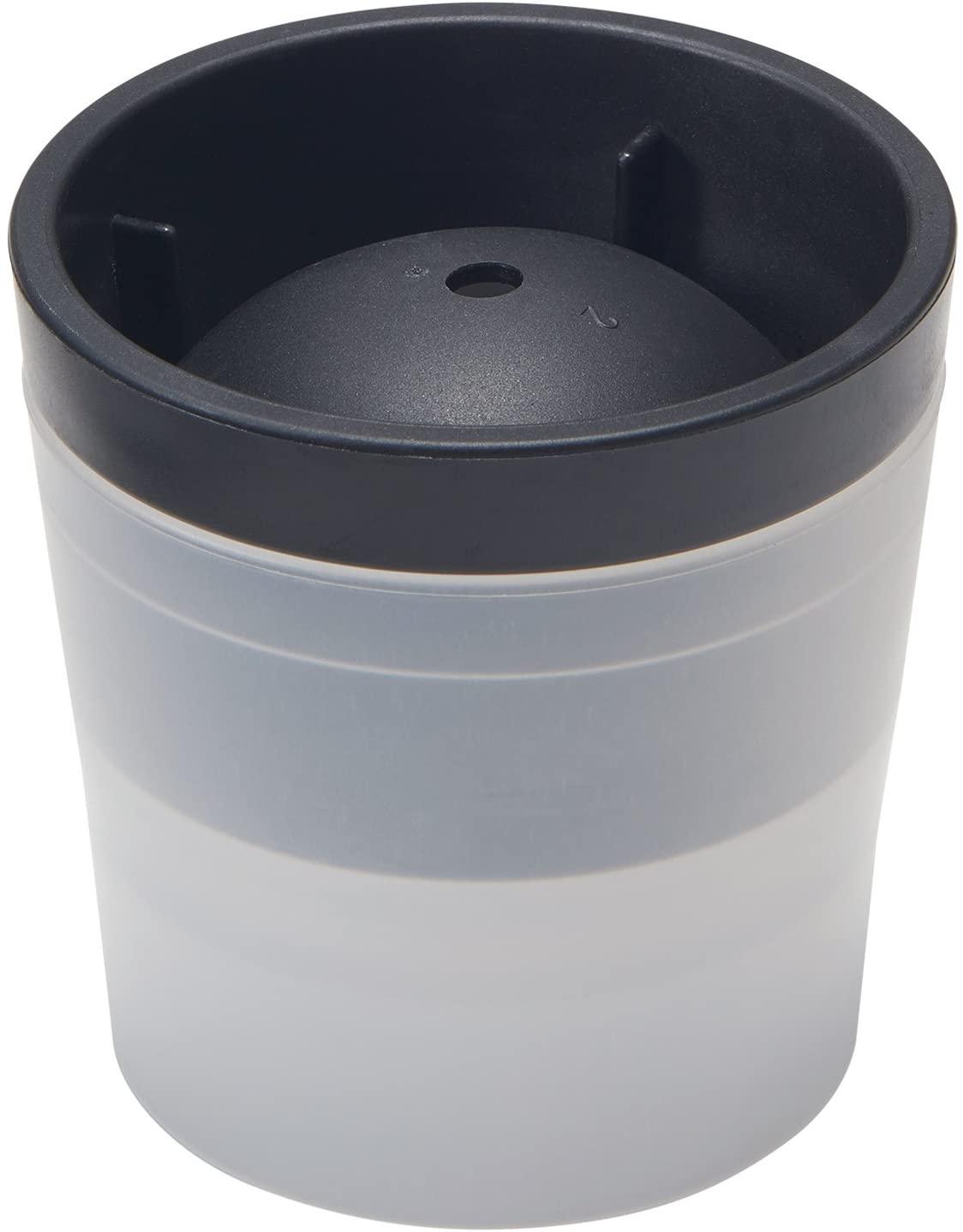 製氷皿俺の丸氷Ф7.5×高7.5cmブラック日本製STK-06
