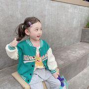 キッズジャケット 野球服 韓国風 普段着 長袖 子供服 コート キッズ 新作 日常用