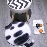椅子のクッション 布団  可愛い 猫 クッション 寮 漫画クリエイティブ 個性 学生