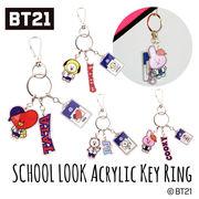 韓国 BT21 スクールルックアクリルキーホルダー 公式 BTS バンタン 韓流 K-POP K-fashion