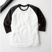 TRUSS BASIC STYLE TQS-122 トライブレンド ラグラン 7分袖Tシャツ