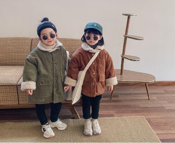 子供服 アウター コート ジャケット キッズ 子ども 秋 冬 シンプル カジュアル トレンド 人気