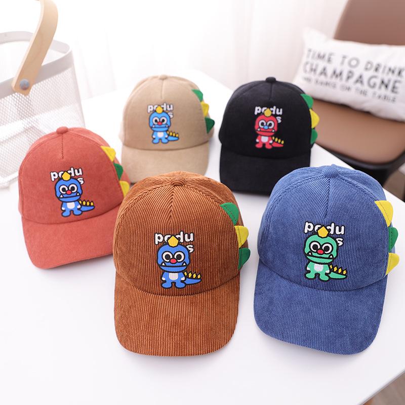 帽子  キャップ  野球帽  キッズ  子ども  秋冬  CLASSIC  暖か  恐竜  トレンド  人気