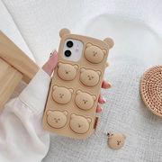 iphone12 Pro Maxスマホケース iphone11pro max/ iPhoneXS MAX/XR/7/8plus携帯電話ケース  クマ