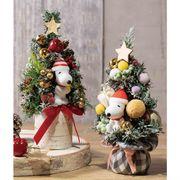 【24cm】ミニツリー スヌーピー【クリスマス ディスプレイ 装飾 オブジェ】