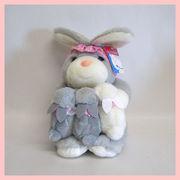 ベビーアンドマミーウサギ