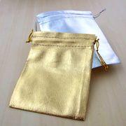 小物 アクセサリーギフトに最適な巾着袋(バッグ) 店舗什器 ディスプレイ用品 梱包 ラッピング 包装