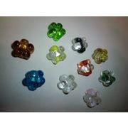 ガラス製とんぼ玉 (N14)梅型(小)40個
