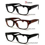 【ウエリントン型】  ダテメガネ   全3色