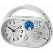 【新品取寄せ品】シチズン目覚まし時計(防災クロック)「ディフェリアR04」4RQA04-003
