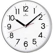 【新品取寄せ品】セイコークロック 電波掛時計 KX301H