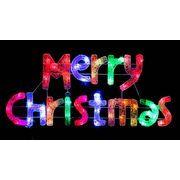 クリスマスイルミネーション  LEDクリスタルMCタイトル(マルチ)