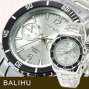 【Bel Air collection】★マルチファンクション メンズ腕時計 DP7-S【BALIHU】