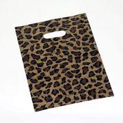 ☆ショッピング袋☆ レジ袋 ビニール袋 オシャレなヒョウ柄 大きさ選べます!!素材にこだわった一品