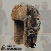 305SDINF MAD BOMBER  ロシア帽子 マッドボンバー ラビットファー100% 帽子