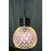 ガラスのペンダントランプ 1灯
