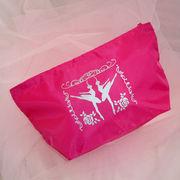 バレエ【ポーチ】ピンク化粧品小物入れメイクペンケース