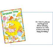 Stockwell Greetings グリーティングカード バースデー 三日月×アニマル×星