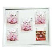 【感謝をこめて沖縄伝統工芸品を贈ります】陽桜でこぼこグラス4個ギフトセット