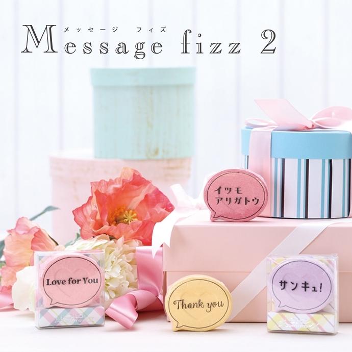【在庫処分セール!】メッセージフィズ2 入浴剤