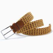 編み込みベルト メッシュベルト メンズ ベルト (幅約3.5cm その2) カジュアル 紳士ベルト