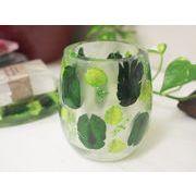 歯ブラシスタンドカップ Green flower GIFTに最適!