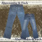正規品【Abercrombie&Fitch】アバクロ★デニム★ブルー★25インチ