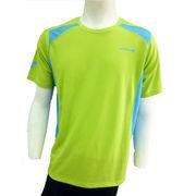 ●☆DOUBLE3メンズ (Men's) ショートスリーブシャツ(DW3280)ライトグリーン50157