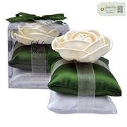 new Sola Flower ソラフラワー ピローサシェ ジェントルローズ Pillow Sachet◆ポプリ/造花