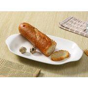 【強化】 取っ手付き長皿(12.5号)  楕円皿/ おうちカフェ/白食器