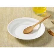【強化】 丸皿(8号深め)  中華皿/ おうちカフェ/白食器