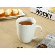 【強化】 マグカップ(350ml)    白い/コーヒー/紅茶/ジュース/牛乳/カフェオレ