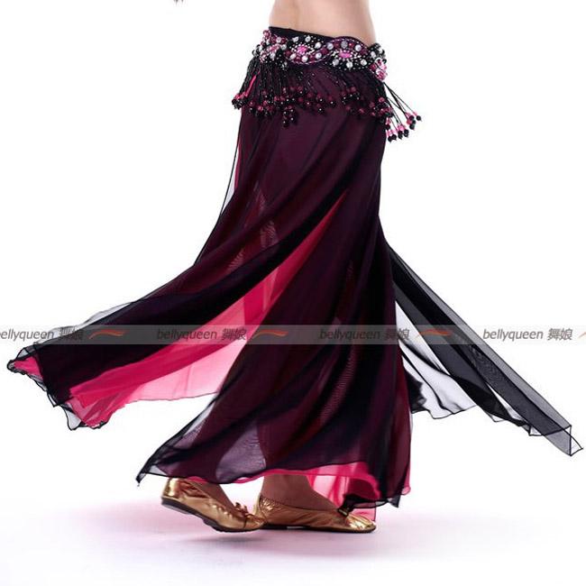 激安!ベリーダンス衣装◆ステージ◆シフォン◆スカート◆コスチューム◆練習着◆レッスンウエア