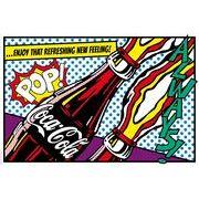 ポスター Coca-Cola-popart