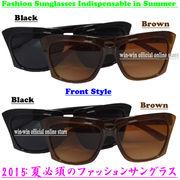 大人気モデル☆2015年:夏必須・スクエアタイプの女性用オシャレなファッションサングラス