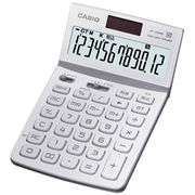 JF-Z200-WE-N カシオ デザイン電卓 ジャストタイプ 12桁 ホワイト
