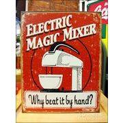 アメリカンブリキ看板 Magic Mixer