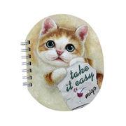 【HenryCats&Friends】ヘンリーキャット リングノート newミーゴ ねこ ネコ 猫 メモ かわいい